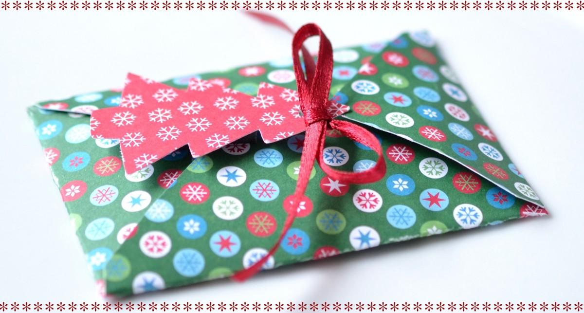 christmas gift card present